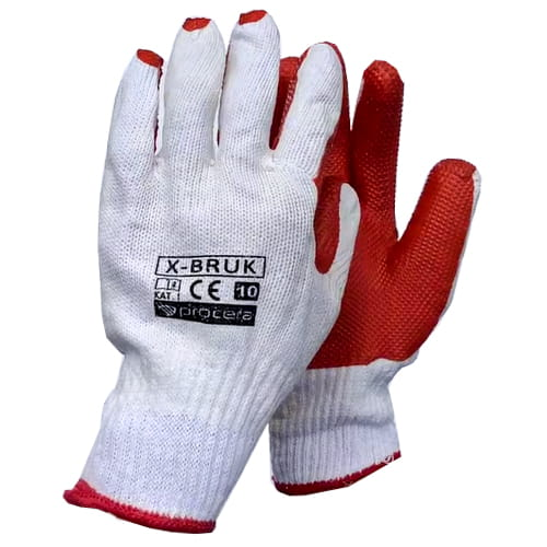 Rękawice robocze powlekane lateks guma X-BRUK