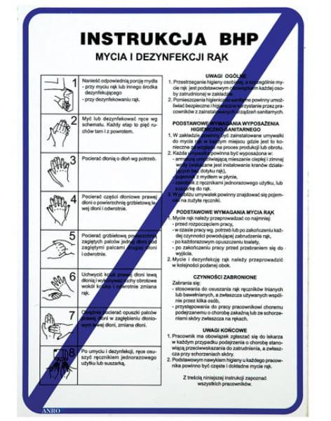 Znak Instr.BHP Mycia Dezynf.Rąk Z-IBG01-P-210x290