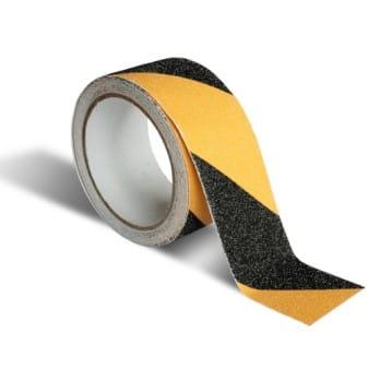 Taśma antypoślizgowa 50mm/10m żółto-czarna